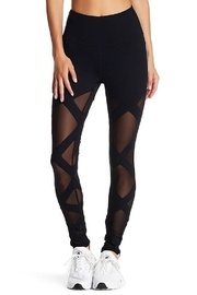 LAsociety Crisscross Mesh Pant - Front cropped