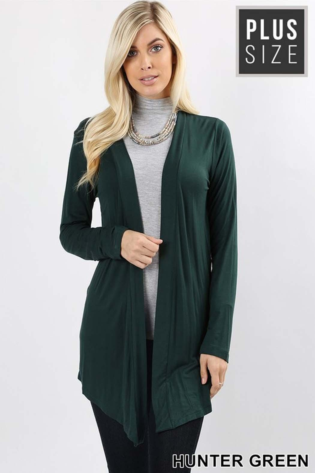 Zenana Outfitters Crissy Duster Cardigan - Main Image