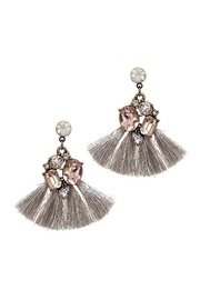 Baggis Accesorios Cristal Tassel Earrings - Product Mini Image
