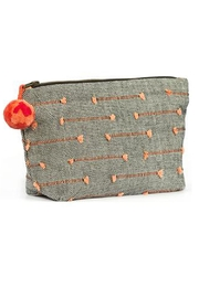 Mercado Global Cristina Cosmetic Pouch - Front full body