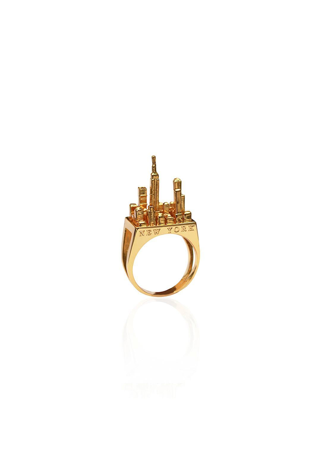 Cristina Ramella Nyc Ring - Front Cropped Image