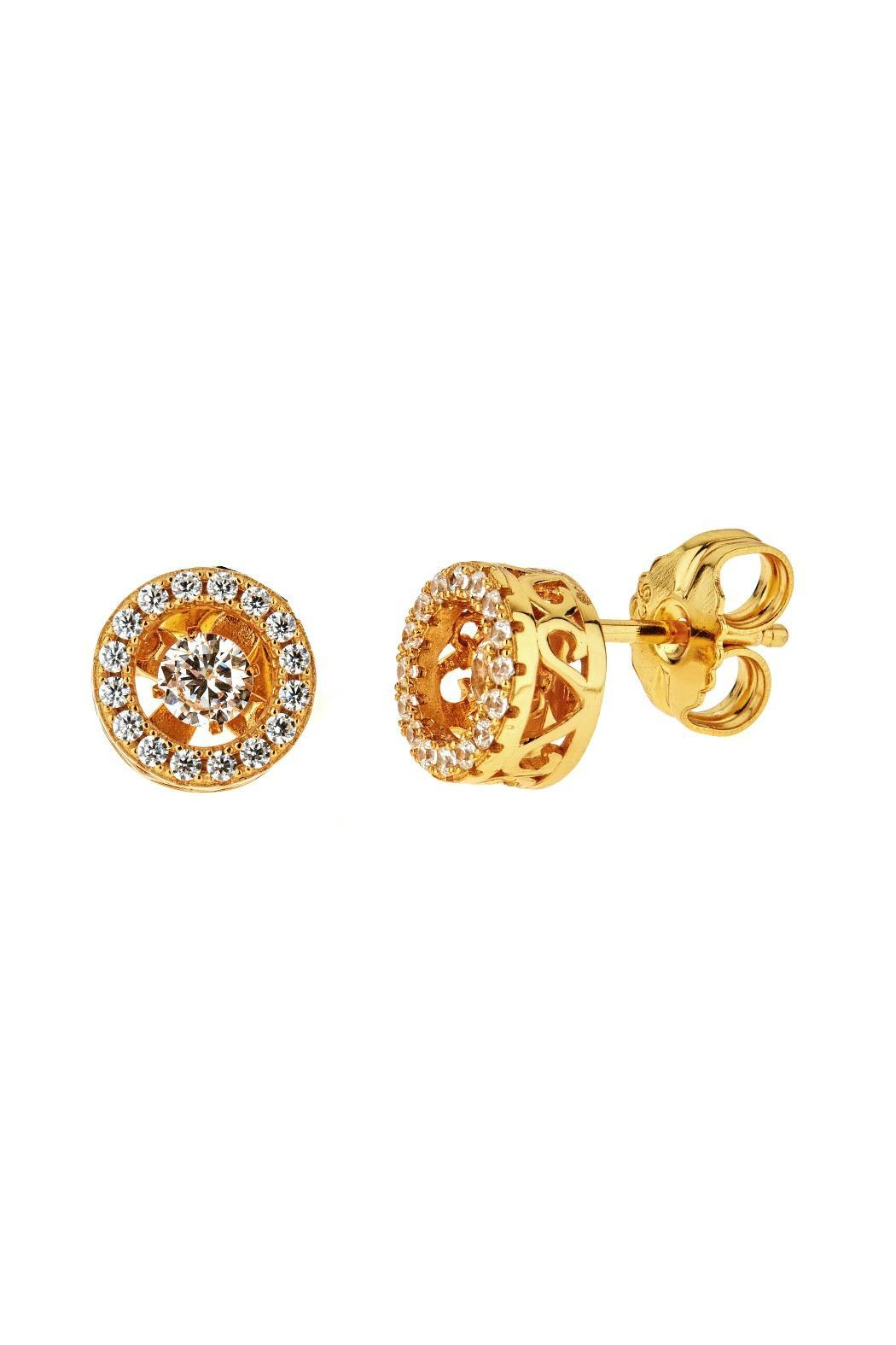 Cristina Sabatini Glint Stud Earring - Front Cropped Image