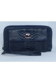 DiJore Croc Textured Italian Leather Wristlet Wallet - Product Mini Image