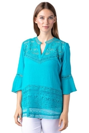 Multiples Crochet 2-Piece Blouse - Product Mini Image