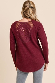The Dressing Room Crochet-Back Top - Product Mini Image