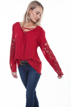 Scully Crochet Blouse - Product List Image