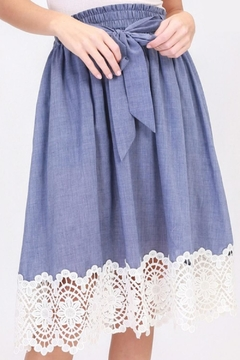 HYFVE Crochet Detail Skirt - Alternate List Image