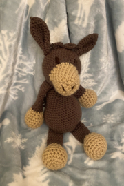 tesoro  Crochet Donkey Stuffed Animal - Product Mini Image