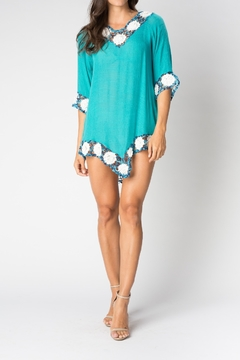 Shoptiques Product: Crochet Flower cover up