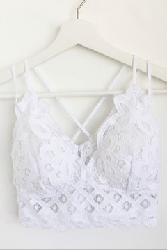 Anemone Crochet Lace Bralette - Alternate List Image