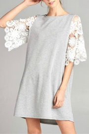 Modern Emporium Crochet Lace Dress - Product Mini Image