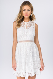 R+D  Crochet Lace Dress - Product Mini Image