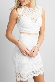 Pretty Little Things Crochet Lace Dress - Product Mini Image