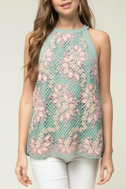 Entro Crochet Lace Tank - Product Mini Image