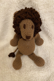 tesoro  Crochet Lion Stuffed Animal - Product Mini Image
