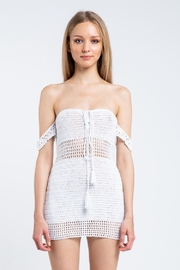 skylar madison Crochet Mini Dress - Product Mini Image
