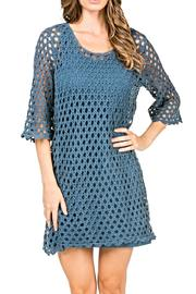 Monoreno Crochet Net Dress - Product Mini Image