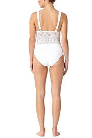 Anne Cole Crochet One Piece - Front full body