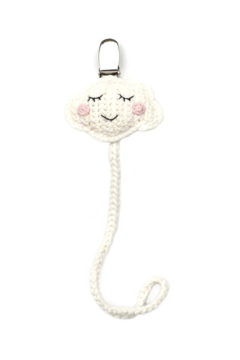 Cheengoo CROCHET PACIFIER CLIP - Alternate List Image