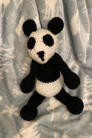 tesoro  Crochet Panda Stuffed Animal - Product Mini Image