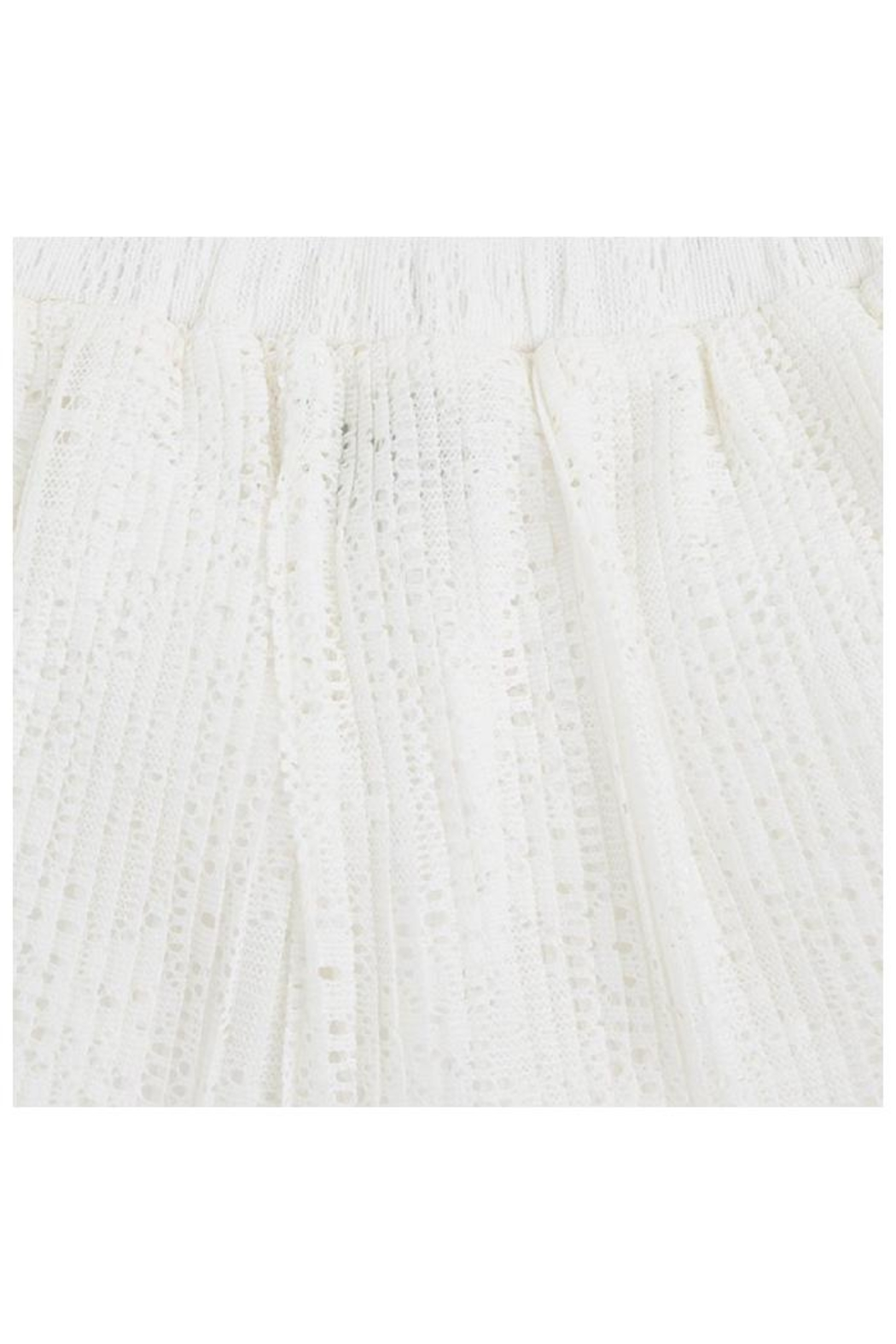 Mayoral Crochet Pleat Skirt - Side Cropped Image