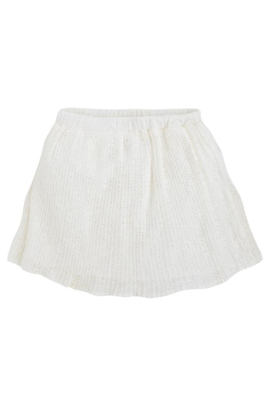 Mayoral Crochet Pleat Skirt - Front Full Image