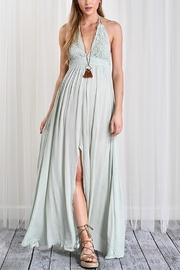Wishlist Crochet Slit Dress - Product Mini Image