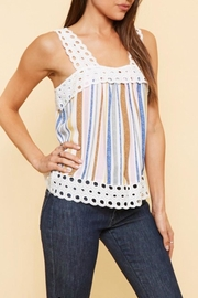 Available Crochet Strap Tank - Product Mini Image