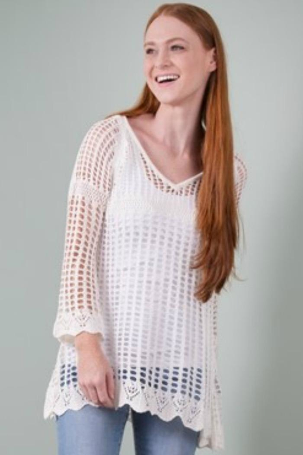 Simply Noelle Crochet Summer Top - Front Cropped Image