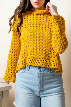 Thml Crochet sweater - Product List Image