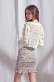 storia Crochet Sweater - Side cropped