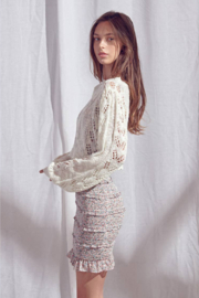 storia Crochet Sweater - Product Mini Image