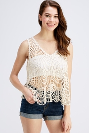 She + Sky Crochet Tank Top - Product Mini Image