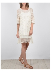 Molly Bracken Crochet Tee Dress - Product Mini Image