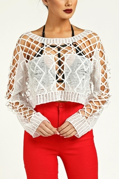 Shoptiques Product: Crochet Top