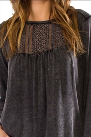 Anama Crochet Yoke Blouse - Front full body