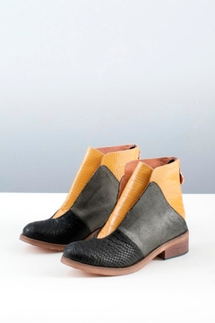Shoptiques Product: Croco Leather Boot