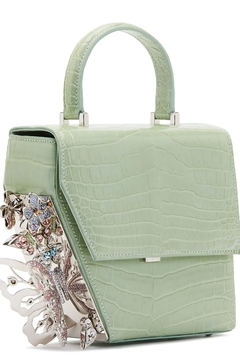 Ming Ray Crocodile Green Shoulderbag - Product List Image