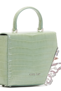 Ming Ray Crocodile Green Shoulderbag - Alternate List Image