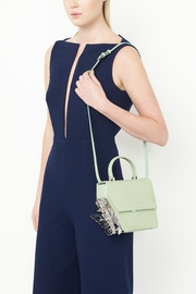 Ming Ray Crocodile Green Shoulderbag - Other