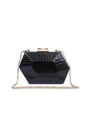 Urban Expressions Crocodile Hard Clutch - Product Mini Image