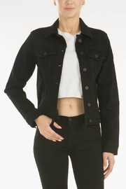 KanCan CROP BLK JKT - Product Mini Image