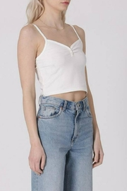 Double Zero Crop Cami - Front full body