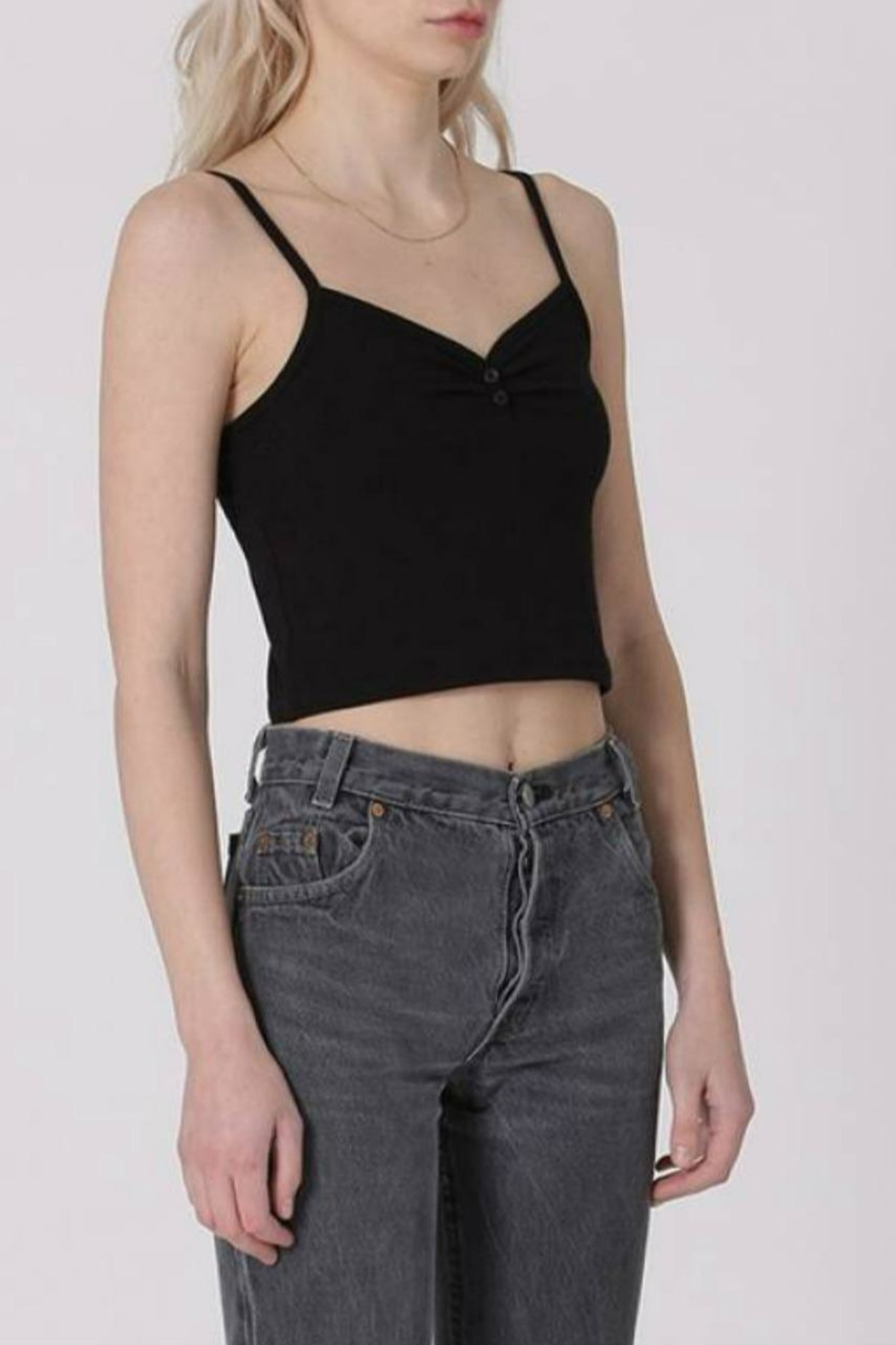 Double Zero Crop Cami - Front Cropped Image