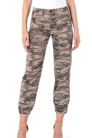 Liverpool  Crop Camo Cargo - Front cropped