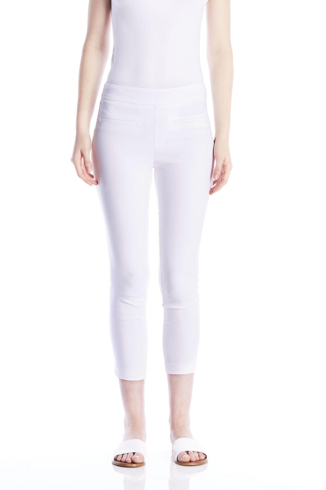 I Love Tyler Madison Crop Cavalli Twill - Front Cropped Image