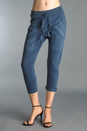Tempo Paris Crop Cotton Pants - Product Mini Image