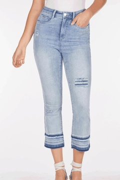 FDJ French Dressing Crop Distressed Jeans - Alternate List Image