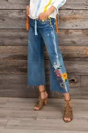 Gabby Isabella  Crop Flare Jeans - Product Mini Image