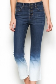 Hidden Jeans Crop Flare Ombre - Product Mini Image